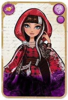 :: Cerise Hood :: la figlia di cappuccetto rosso...  http://www.everafterhigh.com/it-it/mirror-blogs
