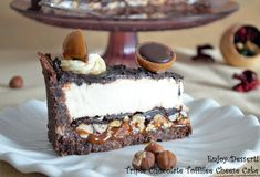 Search Results Pasca Triple Chocolate Cheesecake, Chocolate Toffee, Chocolate Truffles, Chocolate Lovers, Savory Cheesecake, Cheesecake Recipes, Dessert Recipes, Chocolate Babies, Brownie Bar