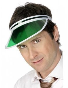 This multi-purpose Green Poker Visor is perfect for many costumes. This visor is good for poker players, casino dealers, bankers, accountants and more. 1980s Fancy Dress, Adult Fancy Dress, Halloween Fancy Dress, Adult Halloween, Halloween Hats, Golf Costumes, Casino Costumes, Costume Hats, Costume Ideas