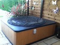 So, they took a Lay-Z-Spa, and built a surround on to it. Im thinking do this, and but the extra inflatable liner and i will have a suped up hot tub. Gazebo it up for winter use. Ohhh yeah!!!