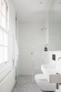 K Apartment bathroom tiles - Marston Architects