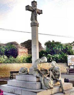 Pilgerdenkmal in Reliegos