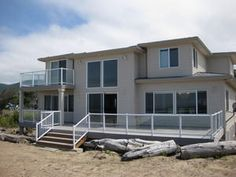 Rockaway Beach, OR: Oceanfront home with 3300 sq ft. of sensational luxury. 6 bedrooms will accommodate 22 guests very comfortably. When you drive up to this home, you wi...