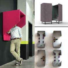 Acoustic innovations from BuzziSpace shown in anticipation of their 2014 introductions: from Remember NeoCon 2013 blog.
