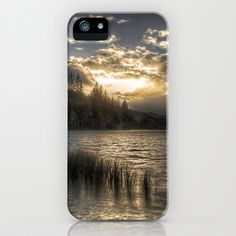 Loch na h-Àirde iPhone Case by Fiona & Paul Photography and Digital Art - $35.00