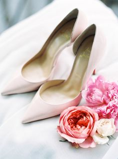 Shoes: Louboutin | Photography: Photographs By Caileigh | Floral Design: Prune Les Fleurs