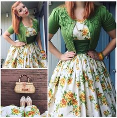 Retro Fashion My Week In Outfits! - Miss Victory Violet 50s Outfits For Girls, 1950s Outfits, Girly Outfits, Pretty Outfits, Pretty Dresses, Beautiful Dresses, Cute Outfits, Moda Vintage, Vintage Stil
