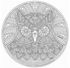 Adult Mandala Coloring Pages - Coloring Pages