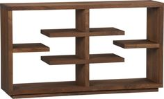 """Elevate Walnut 32"""" Bookcase  