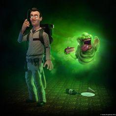 pixar style ghostbusters...
