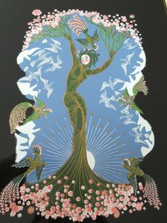 Erte Four Seasons Suite, Limited edition, Signed and Numbered