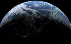 Download wallpapers Earth, planet, night, continents, Earth at night