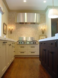 still love kitchens without all the wall cabinets