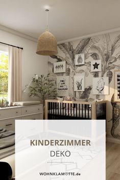 Mit der richtigen Kinderzimmer-Deko sorgst Du gleichzeitig für viel Geborgenheit und strahlende Kinderaugen