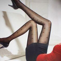 Hot Fashion Womens Sexy Fashion Slim Black Pantyhose Tights Stockings 6 Patterns
