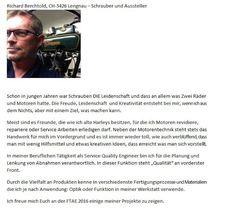 full throttle art exhibition : Richard Berchtold der dritte im Bunde –Mitorganisa...