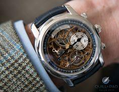 Jules Audemars Skeleton Tourbillon Chronograph in Platinum