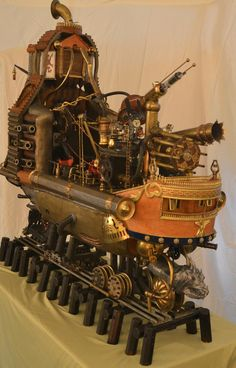 "steampunk machines | Steampunk Machine ""Barnum's Dream"" 
