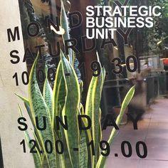 SBU shop is now open on sundays. Strategic Business Unit, The Unit, Shopping