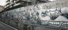 Ozmo, Foligno, Italy - unurth   street art