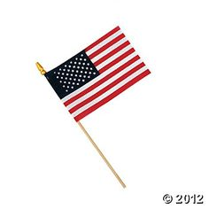 USA Flags, Yard Decor, Party Decorations, Party Themes & Events - Oriental Trading