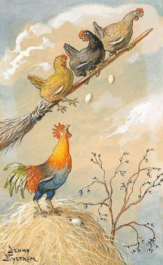 Illustrations de Jenny Nystrôm