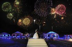 Fabulous #wedding fireworks by @DFWEventsInc | Edmonson Weddings