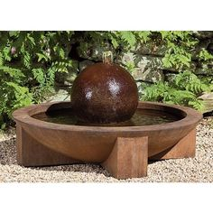 WFSStanding water walls, wall fountains, and custom built water feature fountains home