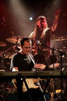 Neal Morse and Mike Portnoy!!!