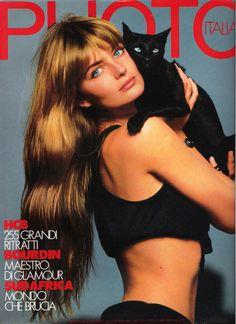 Paulina Porizkova covers Photo Magazine ( Italy )