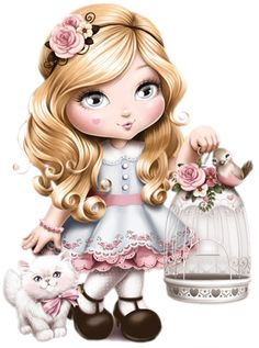 """Photo from album """"mix"""" on Yandex. Cute Images, Cute Pictures, Sweet Girls, Little Girls, Cute Owl, Cute Illustration, Big Eyes, Belle Photo, Cute Drawings"""