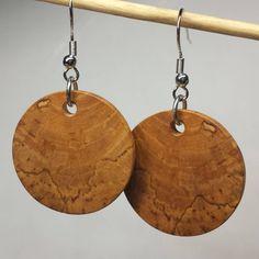 Hawthorne #earrings #woodearrings #mackeyartistry