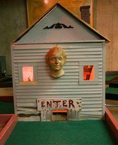 Haunted House hole at Ahlgrim Miniature Golf Course