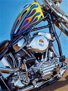 Hot Bike Baggers Magazine another piece of genius by Chris Kallas