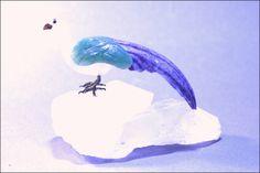 Oiseau pierre semi-précieuse 8