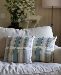 DIY Button DIY Pillow Covers DIY Button