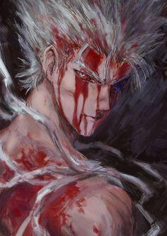 Wounded Garou - OnePunchMan,so cool art. #onepunchman #anime #cosplayclass