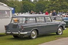1963 Humber Super Snipe Estate Series V cylinder OHV Engine Coventry England, Wagon Cars, Shooting Brake, Commercial Vehicle, Station Wagon, Automotive Industry, Old Cars, Motor Car, Cars And Motorcycles