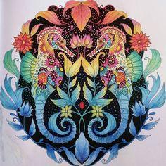 Image result for adult coloring johanna basford