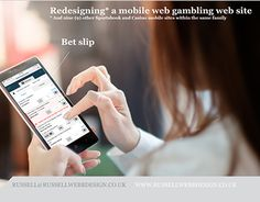 """Check out new work on my @Behance portfolio: """"Re-designing a mobile gambling website"""" http://be.net/gallery/59422771/Re-designing-a-mobile-gambling-website"""