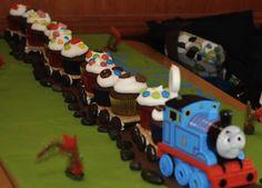 Train à vapeur personnalisé anniversaire gâteau comestible topper décoration carré