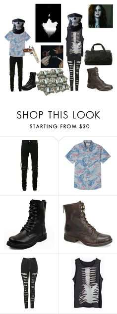 """Robbers: The 1975"" by xxalonegirlxx ❤ liked on Polyvore featuring AMIRI, Billabong, Børn and The Ragged Priest"