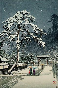 Hasui Kawase (Японские гравюры I )