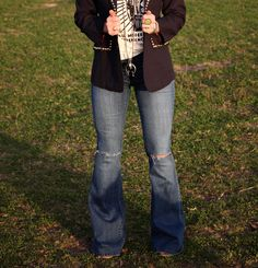 The Saginaw Denim Flares – Buckin Wild Designs and Boutique Western Outfits Women, Country Girls Outfits, Classy Outfits, Casual Outfits, Fashion Outfits, Girly Outfits, Fashion Clothes, Beautiful Outfits, Trendy Fashion