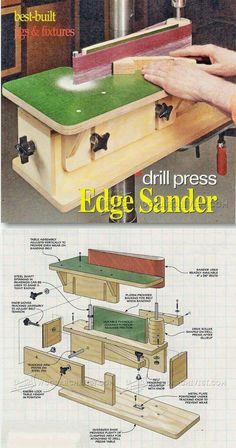 DIY Edge Sander – Sanding Tips, Jigs and Techniques - diy projects