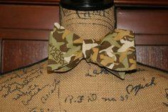 Duck Dynasty Adjustable Self Tie Bow Tie by DesignPlusMe on Etsy, $28.00