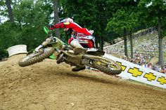 "James Stewart changed motocross forever when he showed everyone the ""Bubba Scrub"" during the 2003 Budd's Creek pro motocross national. Chris Tedesco Photo."
