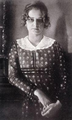 Hugo Erfurth. Adele Zwintscher. 1908.
