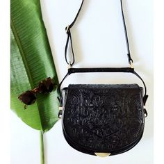 SANCIA || The Babylon Bar Bag || Hand-tooled leather