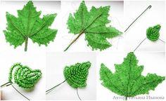 Maple Tree Leaf - https://mimuu.com/boncuklardan-agac-nasil-yapilir/